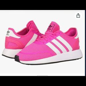 ADIDAS Kids Sneaker Hot Pink